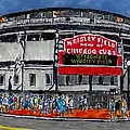 Welcome To Wrigley Field by Phil Strang