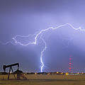 Weld County Dacona Oil Fields Lightning Thunderstorm by James BO Insogna