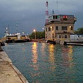Welland Canal Locks by Barbara McDevitt