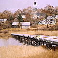 Wellfleet Golden Morn by Karol Wyckoff