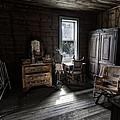 Wells Hotel Bridal Suite - Garnet Ghost Town - Montana by Daniel Hagerman