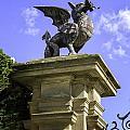 Welsh Dragon by Fran Gallogly