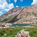 Weminuche Wilderness Area Landscape by Cascade Colors