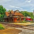 Wenonah Train Station by Nick Zelinsky