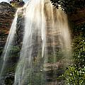 Wentworth Waterfall Blue Mountains by Tim Hester