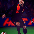 Wesley Sneijder  by Paul Meijering