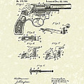 Wesson Revolver 1896 Patent Art by Prior Art Design
