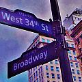 West 34th And Broadway by Greg Kear