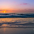 West Coast Sunset Cool Tones by Michael Ver Sprill