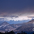 West Elk Mountains First Light by Eric Rundle
