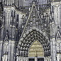 West Entrance Door Cologne Cathedral by Teresa Mucha