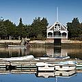 West Falmouth Boat House by Dennis Coates