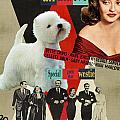 West Highland White Terrier Art Canvas Print - All About Eve Movie Poster by Sandra Sij
