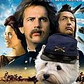 West Highland White Terrier Art Canvas Print - Dances With Wolves Movie Poster by Sandra Sij