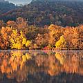 West Lake Winona Orange Stripe by Kari Yearous