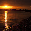 West Mersea Sunset by David Isaacson