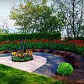 West Of The Lake Gardens Manitowoc Wi by Carol Toepke