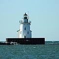 West Pierhead Lighthouse by Nancy Spirakus