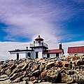 West Point Lighthouse - Discovery Park - Seattle Washington by Silvio Ligutti