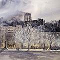 West Point Winter by Sandra Strohschein
