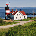 West Quaddy Lighthouse by Phyllis Taylor