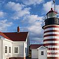 West Quoddy Head Lighthouse by John Greim
