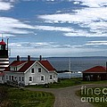 West Quoddy Lighthouse by Joseph Marquis