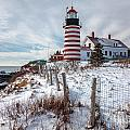 West Quoddy Winter by Susan Cole Kelly