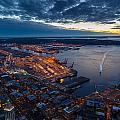 West Seattle Water Taxi by Mike Reid