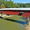 West Union Covered Bridge 2 by Marty Koch
