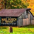 West Virginia Barn Oil by Steve Harrington