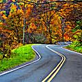 West Virginia Curves Painted by Steve Harrington