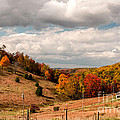 West Virginia Rural Landscape Fall by Kathleen K Parker