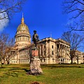 West Virginia State Capitol Building by Adam Jewell