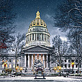 West Virginia State Capitol by Mary Almond