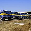Westbound Train by Steve  Yezek
