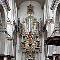 Westerkerk Interior In Amsterdam by Artur Bogacki
