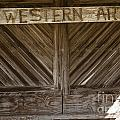 Western Art Barn Doors In Color 3003.02 by M K Miller
