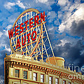Western Auto Sign Downtown Kansas City by Andee Design