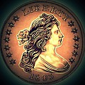 Western Draped Bust Liberty Dollar by Fred Larucci