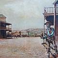Western Frontier Town by Bernie Habicht