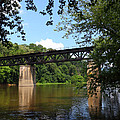 Western Maryland Railroad Crossing The Potomac River by James Brunker