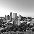 Western View Of Austin Skyline by Kristina Deane