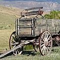 Western Wagon by Sabrina L Ryan