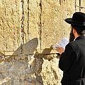 Western Wall Prayer by Stephen Stookey