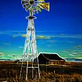 Western Windmill by Steve McKinzie