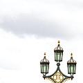 Westminster Bridge Lamppost by Ann Horn