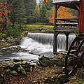 Weston Grist Mill by Priscilla Burgers