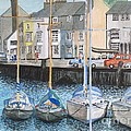 Weymouth Harbour by Julie Jules Grant-Field