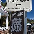 Whaley House Us Hwy 101 Historic Route by Jason O Watson